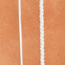 STERLING SILVER PLAIN WIRE & TWISTED WIRE EAR THREADS