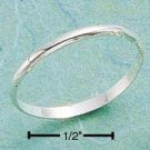 CLASSIC STERLING SILVER 1.5MM PLAIN BAND.