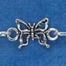 "STERLING SILVER 7"" MINI BUTTERFLY BRACELET"