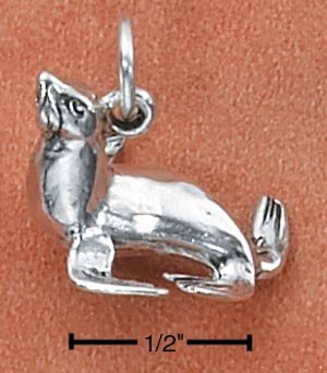 STERLING SILVER SEALION CHARM