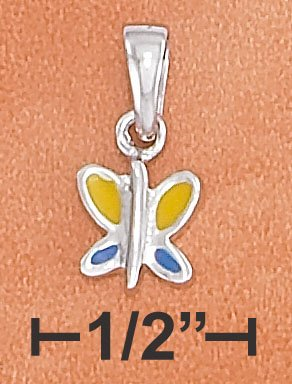 STERLING SILVER HP SMALL BUTTERFLY CHARM
