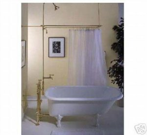 Clawfoot Tub Shower Curtain:Clawfoot Tub Shower Curtains By Strom