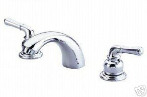 Wide Spread Washerless Faucet