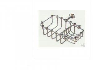 Clawfoot Shower Riser Soap Holder Chrome Plated Brass