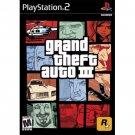 SONY PLAYSTATION 2 GRAND THEFT AUTO III GREATEST HITS EDITION