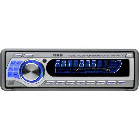 RCA AM/FM CD In-Dash