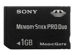 Sony Pro Duo 1GB Memory Stick