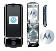 Motorola KRZR K1 'Black' Mobile Cellular Phone (Unlocked)
