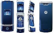 Motorola KRZR K1 'Blue' Mobile Cellular Phone (Unlocked)