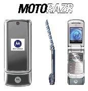 Motorola KRZR K1 'Silver' Mobile Cellular Phone (Unlocked)