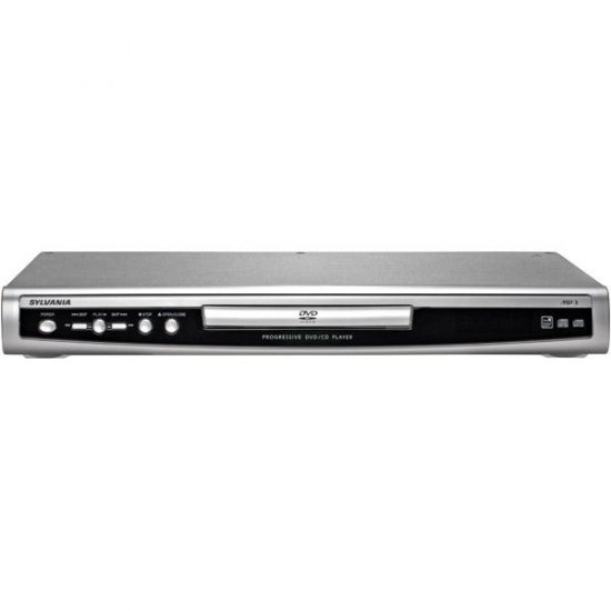 Sylvania DVD Player with Progressive Scan