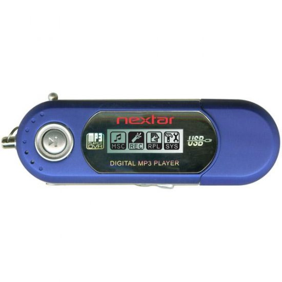 Nextar 512MB MP3 Player with Voice Recording