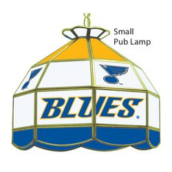 St. Louis Blues Glass Shade Lamp Light