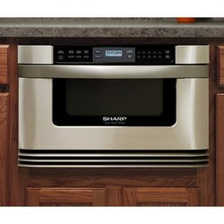 Sharp 24-Inch Insight Pro Microwave Drawer in Stainless Steel