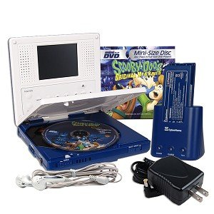CyberHome CH-MDP 2500B Portable Mini-DVD Player (Blue)