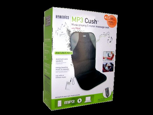 Homedics MP3 Cush Massage Seat With Heat