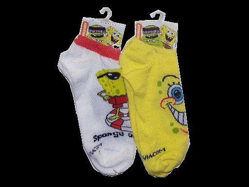 SpongeBob Squarepants Assorted Ankle Socks 12 Pairs