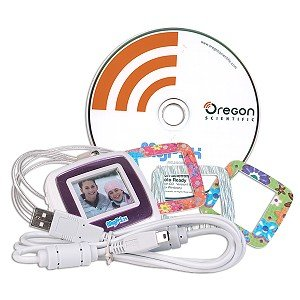 "Oregon Scientific PA18 MyPix Digital Photo Viewer w/1.4"" LCD"
