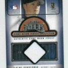 2005 Fleer Classic Clippings Jeremy Bonderman Jersey #28 Detroit Tigers