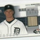 2003 Fleer Box Score Jeremy Bonderman Bat Card ROOKIE !!! Detroit Tigers