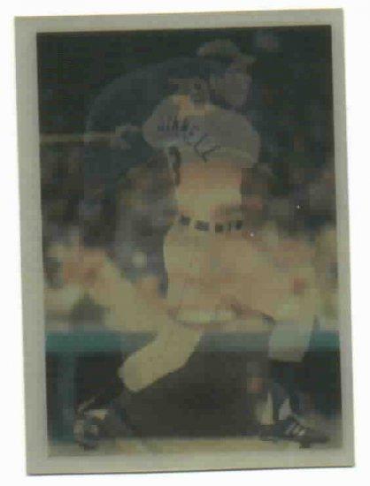 1986 Sportflics Alan Trammell Series 1 Detroit Tigers