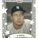 2002 Topps American Pie Al Kaline Sluggers Detroit Tigers Silver