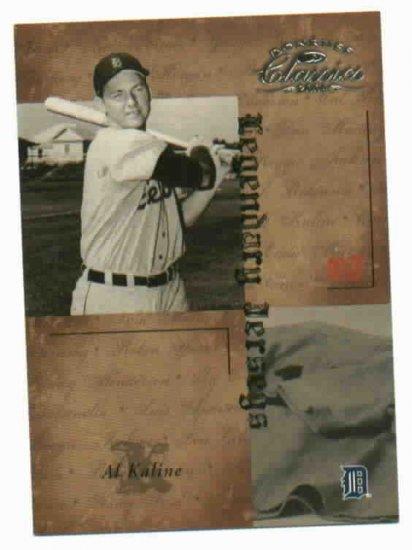 2004 Donruss Classics Al Kaline #D 484/500 Detroit Tigers