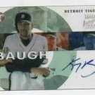 2002 Topps Pristine Kenny Baugh AUTOGRAPH Rookie Detroit Tigers