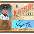 2002 Diamond Kings Diamond Cut Robert Fick AUTOGRAPH #D 330/500 Detroit Tigers