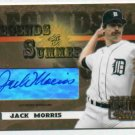 2003 Donruss Sig Series Legends Of Summer Jack Morris AUTOGRAPH Detroit Tigers