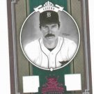 2005 Diamond Kings Legends Jack Morris DUAL JERSEY #D 9/50 Detroit Tigers