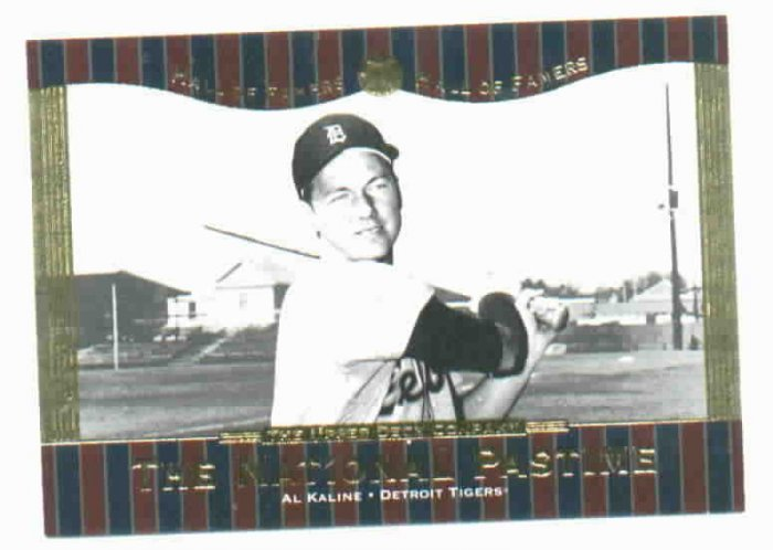 2001 Upper Deck Hall Of Famers Al Kaline Detroit Tigers