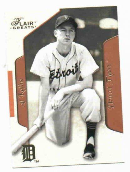 2003 Flair Greats Al Kaline Detroit Tigers