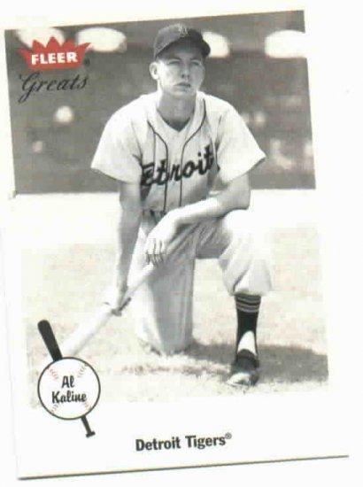 2002 Fleer Greats Al Kaline Detroit Tigers