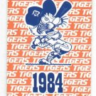 1984 Detroit Tigers Schedule World Series Champs Marathon Oil