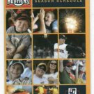 2008 Toledo Mud Hens Pocket Schedule