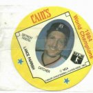 Cains MSA Disc 1984 World Champions Detroit Tigers Lance Parrish UNOPENED