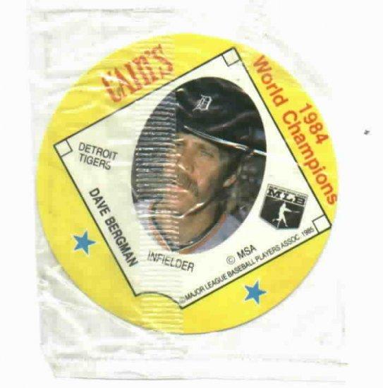 Cains MSA Disc 1984 World Champions Detroit Tigers Dave Bergman UNOPENED