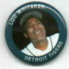1984 Fun Foods Lou Whitaker Pin Detroit Tigers Oddball