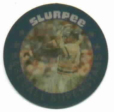 1986 7/11 Slurpee Triple Stars Darrell Evans  Coin / Disc Detroit Tigers Oddball