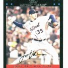 2007 Topps Update Justin Verlander All Star Detroit Tigers