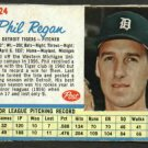 1962 Post Phil Regan Detroit Tigers Card # 24