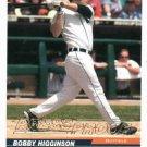 2005 Leaf Gold Press Proof Bobby Higginson #D 10/25 Detroit Tigers
