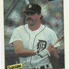 1986 Fleer Baseballs Best Kirk Gibson Detroit Tigers