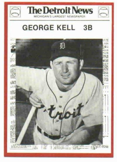 1981 Detroit News George Kell ODDBALL Tigers