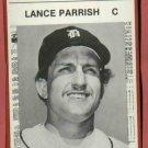 1981 Detroit News Lance Parrish Oddball Tigers 1984