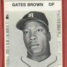 1981 Detroit News Gates Brown Oddball Tigers 1968