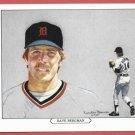 1984 Tiger Wave Dave Bergman Oddball Detroit Tigers