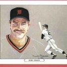 1984 Tiger Wave Kirk Gibson Oddball Detroit Tigers