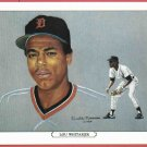 1984 Tiger Wave Lou Whitaker Oddball Detroit Tigers